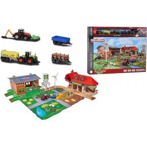 Ігровий набір Majorette Креатікс Велика ферма з 5 машинками (2050009)
