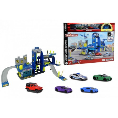 Ігровий набір Majorette Креатікс Поліція з 5 машинками (2050030)