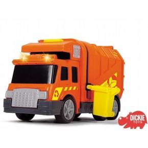 Dickie Toys Вантажівка сміттєвоз, City Cleaner (302000_S)