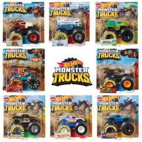 Машинки-монстри базовий позашляховик Хот Вілс, Monster Truck Hot Wheels (FYJ44)