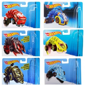 Машинки Мутанти, Хот Вілс, Mutant Machines, Hot Wheels, Mattel (Ass. BBY78)