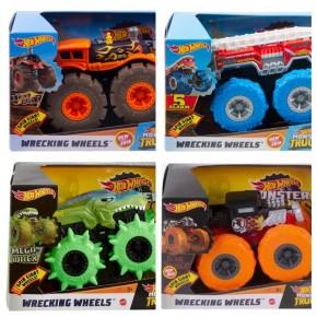 Машинки-монстри з великими колесами Хот Вілс, Monster Truck Hot Wheels (GCG01)