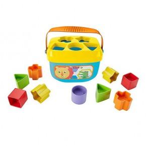 """Відерце з кубиками """"Перші блоки немовляти"""", Baby's First Blocks, Fisher-Price (FFC84)"""