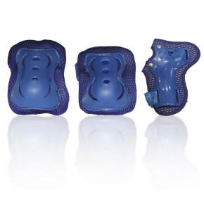 Комплект захисного спорядження G-Forse (блакитний)