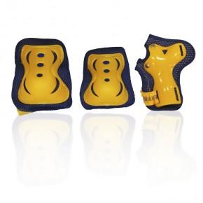 Комплект захисного спорядження G-Forse (жовтий)